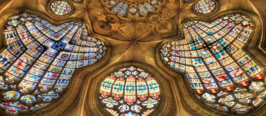 Le vitrail du Moyen âge